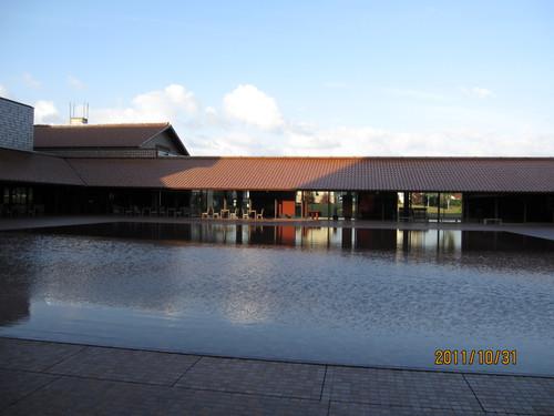 グラントワ 中庭