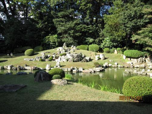 万福寺の雪舟庭園 (益田市)