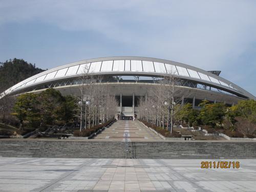 正面エントランス 2011-02-16